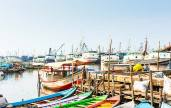 Sunda Kelapa was an important port with ships that exported billions of dollars' worth of nutmeg from Batavia to Europe