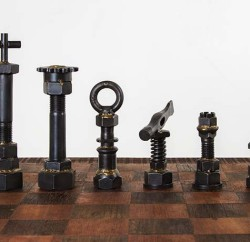 Chess set, $2,900