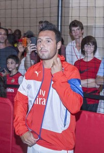 Santi Cazorla, the Spanish wizard, continues to be integral in Arsenal's success, along with Alex Oxlade-Chamberlain and Alexis Sanchez Photo: Sam Aronov / Shutterstock.com