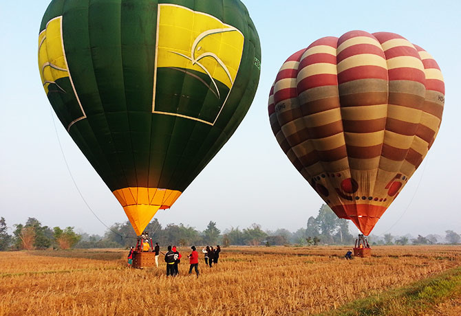 Hot air balloon rides are a rarity in South-east Asia. However, you can experience it in Chiang Mai.