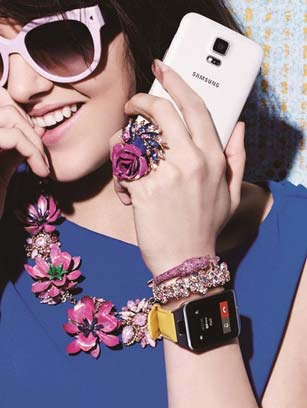 More than just an accessory, smartwatches work just like a smartphone but on your wrist Photo: Samsung Mobile