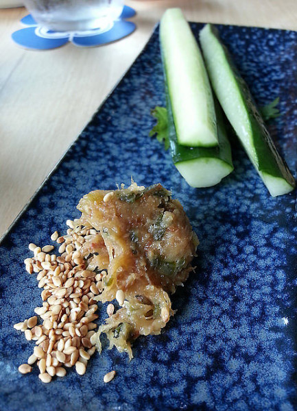 Kyushu cucumber with delectable home -made miso