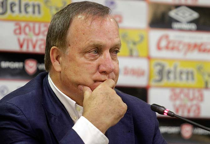 It looks as though Dick Advocaat's recent appointment as  Sunderland manager  is too little too late to save the club from relegation doom Photo: Andrej Cukic