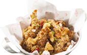 Chir Chir Garlicky Wings!