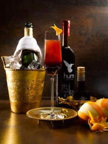 The Seger Seelbach, an homage to a Chicago mixologist, Adam Seger created by Tom Hogan.