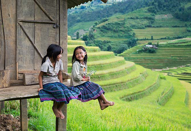 Hill tribe villagers in Vietnam seem to live an idyllic life (Photo: Jimmy Tran /Shutterstock.com)