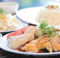 Chicken rice is a popular dish for many