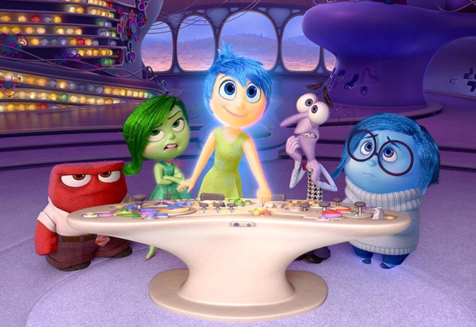 Inside Out is an animated and humorous look at the pains of growing up