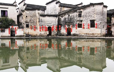 China's old towns have well-preserved architecture and photogenic environments