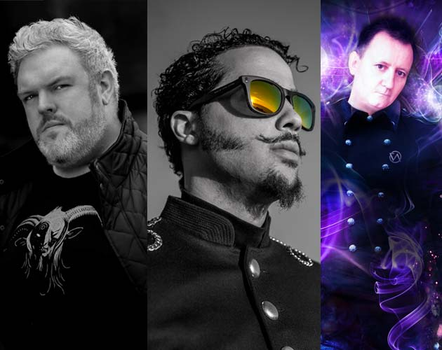 """From Left: Catch celebrities like Kristian Nairn from """"Game of Thrones"""", Rapper Sky Blu and DJ Mark Doyle at The Podium Lounge's Grand Prix After-Party (Photo: The Podium Lounge, Photo: JustFeng)"""