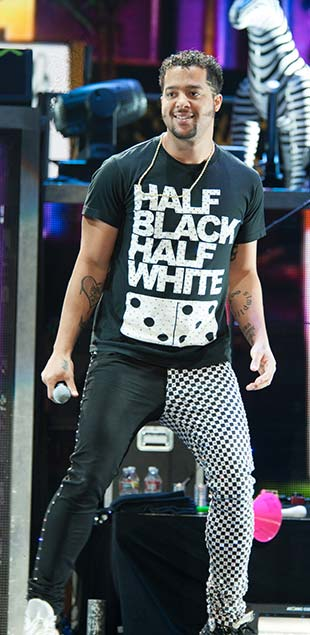 Sky Blu is known for his flashy moves and catchy tunes in LMFAO, but he's about to ramp it up even more now that he's flying solo (Photo: Randy Miramontez / Shutterstock.com)