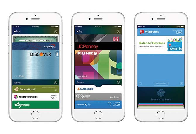 Apple Pay can be used only with an Apple Pay-enabled card reader