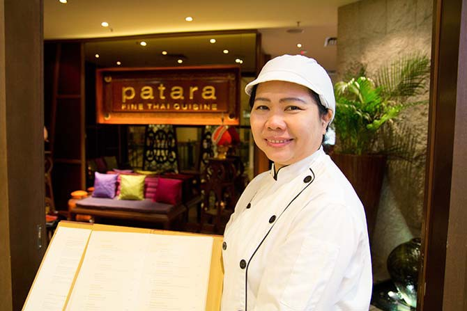 Chef Chimkit Khampuang is part of the team at Patara Fine Thai Cuisine