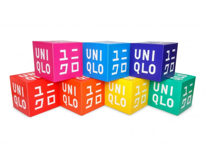 UNIQLO 7th Anniversary - Novelty Visual