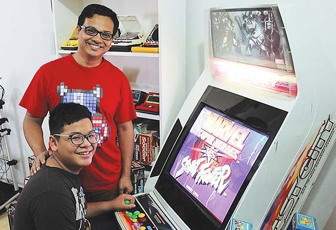 He collects over 40 retro game consoles - Weekender Singapore