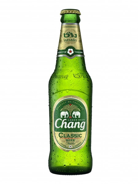 Chang Beer 320mL Bottle Front
