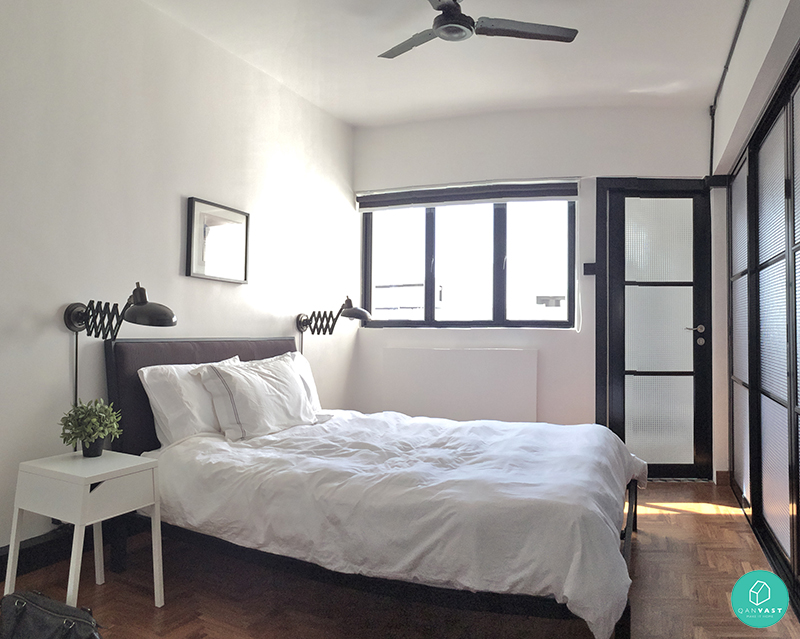 Renovation Ideas For Homes Under Square Metres Weekender - Hdb bedroom design ideas