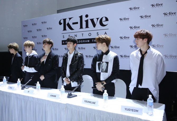 GOT7 Press Conference Official Photo