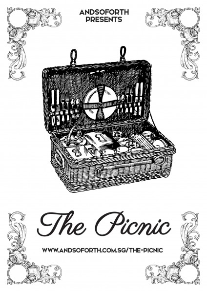 The Picnic Logo Poster