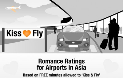 World's most romantic airports to Kiss and Fly