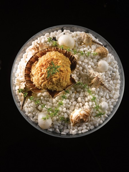Crystal Jade Prestige - Baked Crispy Glutinous Rice with Scallop