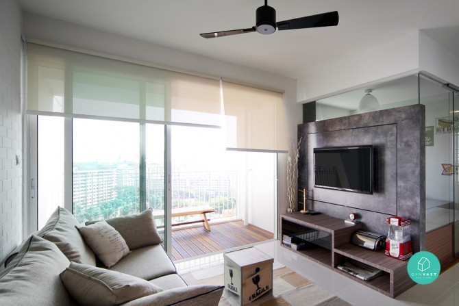 10 space saving solutions for small homes weekender singapore - Small living space solutions property ...