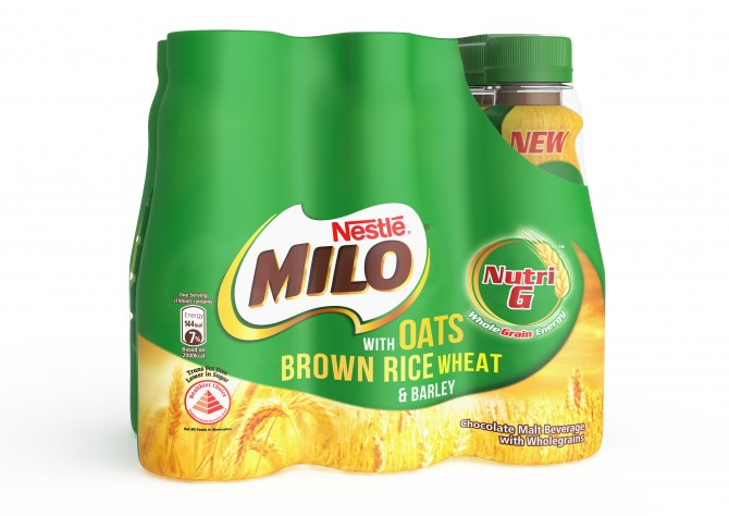 Milo Nutri G PET 190ml Bottle Wrap 6x6