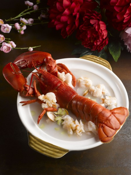 Stewed Boston Lobster in Superior Stock