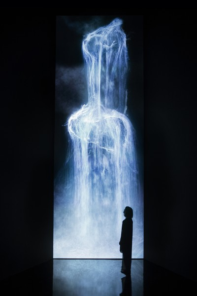 Universe of Water Particles - Future World at ArtScience Museum (Credit to teamLab)