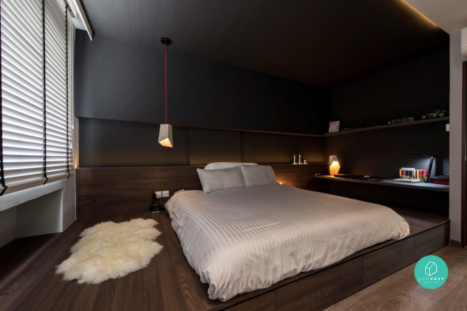10 homes that don t look like hdb apartments weekender singapore Master bedroom in jurong east