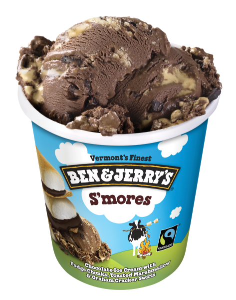 Ben & Jerry's S'mores (without lid)