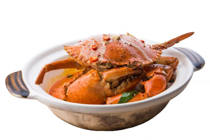 Big Lazy Chop - Wok Fried XL Crab - Indo Curry (1)