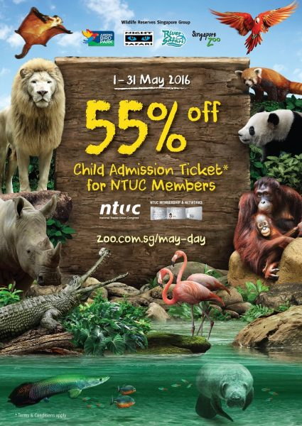 WRS NTUC May Day Promotion 1-31 May 2016