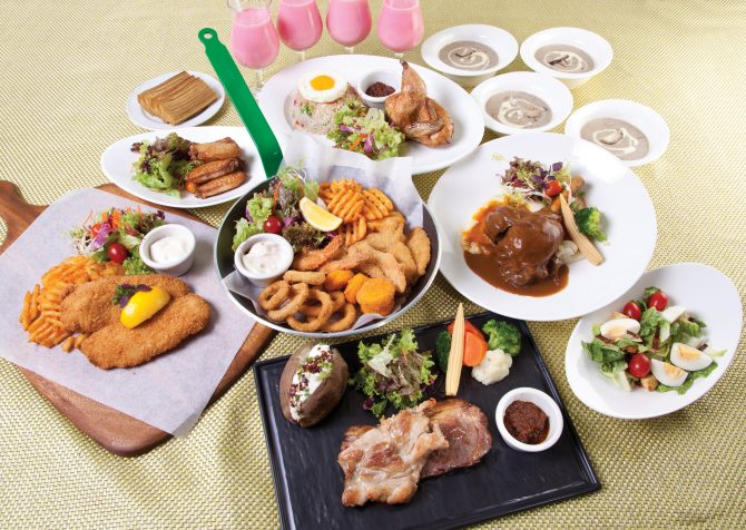 Hari Raya Combo meal for 4 pax