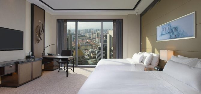 The Westin Singapore - Guestroom