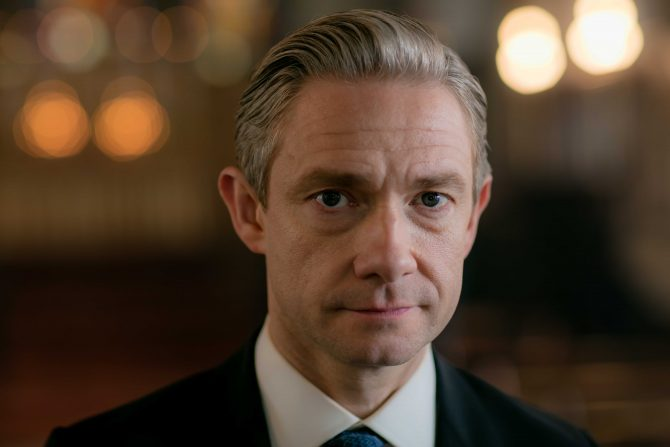 Picture shows: John Watson (MARTIN FREEMAN)