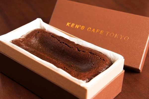 The Gateau Chocolat From Famous Chocolatier Kens Cafe Tokyo