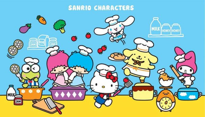 Gudetama And Happy Chefs Join The Goldheart x Sanrio Gold