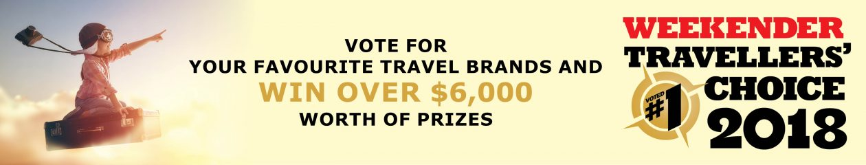 WEEKENDER TRAVELLERS' CHOICE AWARDS