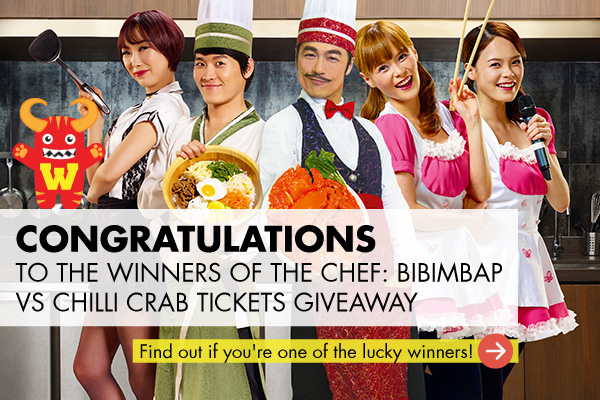 WEEKENDER CHEF: Bibimbap vs Chilli Crab Tickets Giveaway