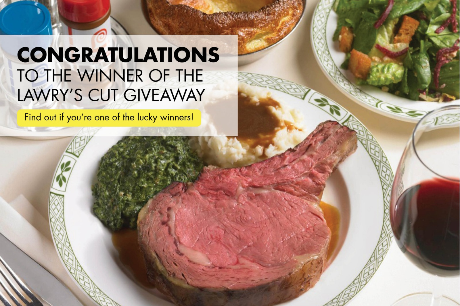 WEEKENDER The Lawry's Cut Giveaway