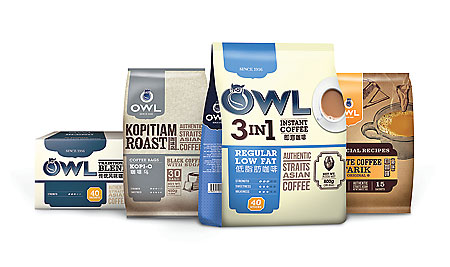 #50 Food Owl Coffee Running Man