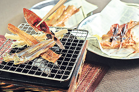 Retro-hip sumiya japanese cuisine food dining DIY Charcoal grill skewers Sumiya charcoal grill Izakaya restaurant