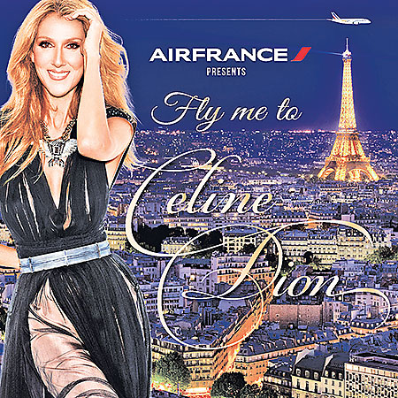 Travel Air France Fly me to Celine Dion contest winners prize Paris concert hall