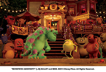 This time it's Sulley v Wazowski