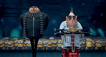 Gru and Dr Nefario are up to good this time