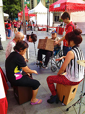 Beat'a Box helps the elderly  and youths