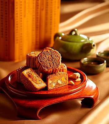 Din Tai Fung's traditional baked mooncakes