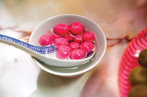 Tang Yuan is a reunion must-have