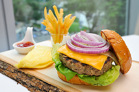 Grilled Wagyu Quarter Pounder Burger